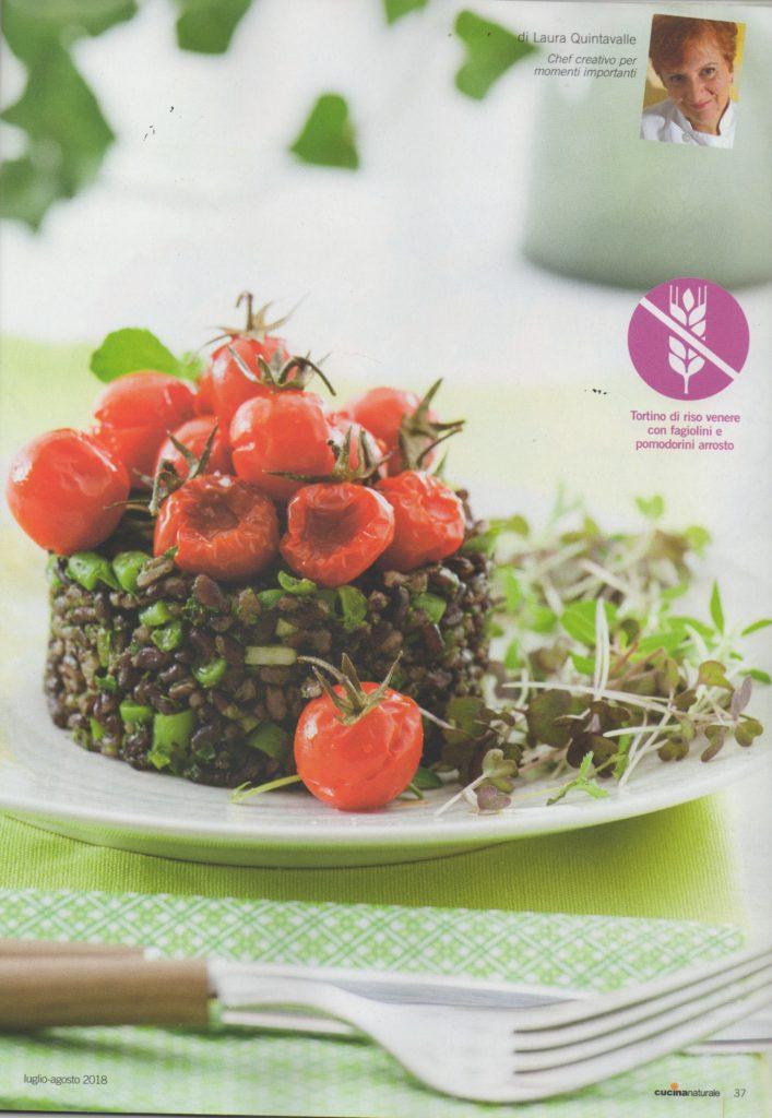 Nuove ricette sul mensile cucina naturale for Nuove ricette cucina