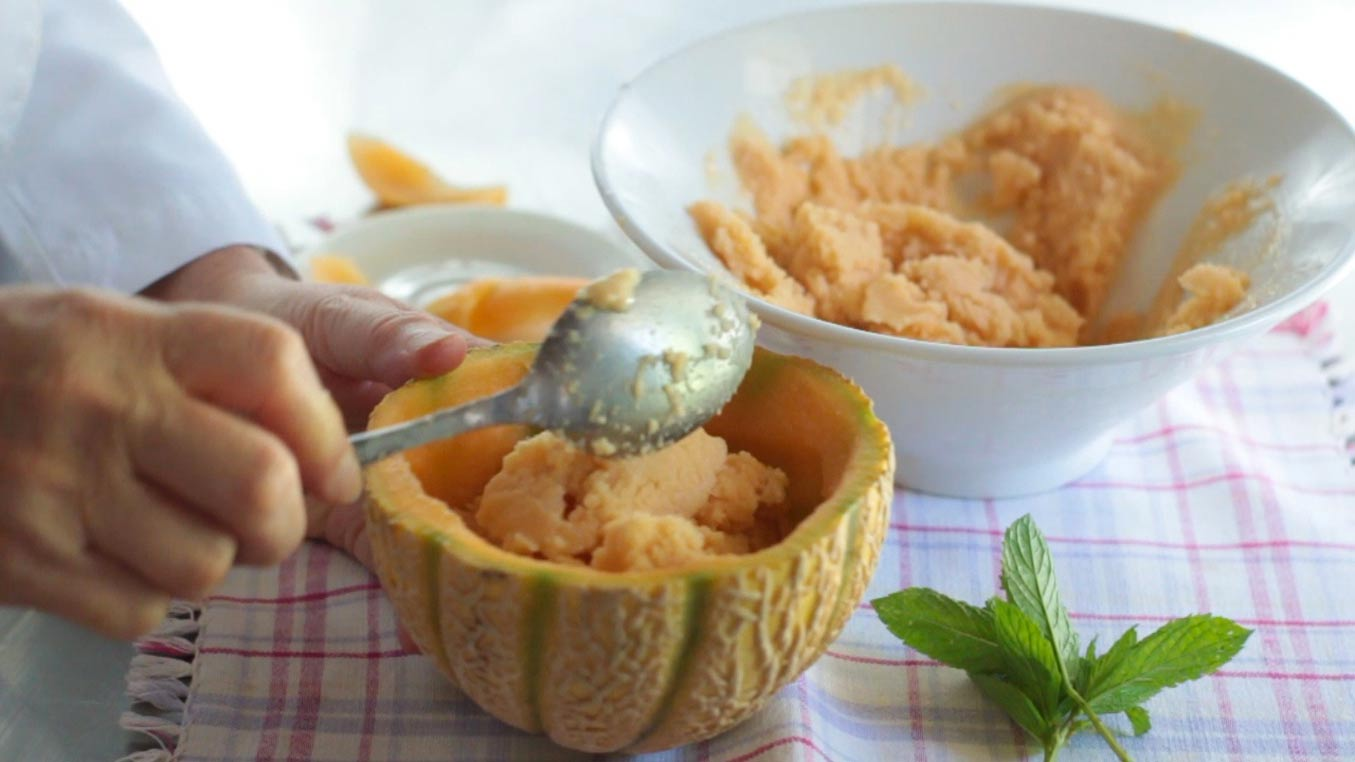 gelato al melone